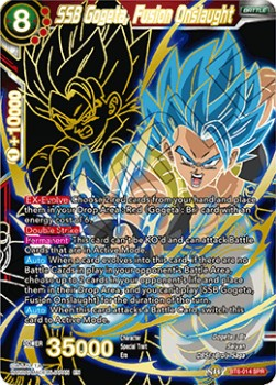 SSB Gogeta, Fusion Onslaught (Version 2 - Special Rare)