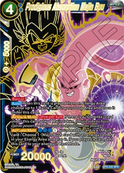 Prodigious Absorption Majin Buu (Version 2 - Special Rare)