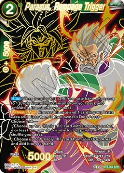 Paragus, Rampage Trigger (Version 2 - Special Rare)