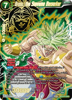 Broly, the Supreme Berserker (Version 2 - Special Rare)