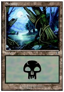 Magic MTG ENG Fiume Sotterraneo Underground River - Seventh Edition