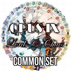 Set de Communes de Opus IX: Lords & Chaos