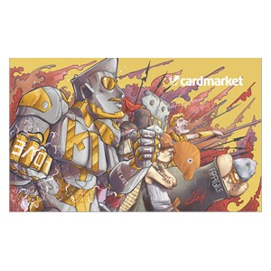 "Cardmarket ""Golden Warrior"" Spielmatte"