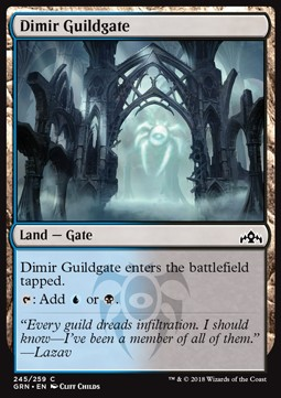 Dimir Guildgate (Version 1)