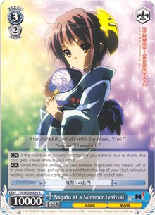 Nagato at a Summer Festival (Version 2 - Parallel Foil)
