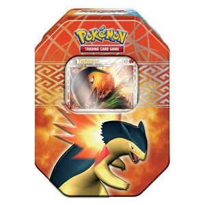 2010 Spring Collector's Tins: Typhlosion Tin