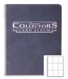 Ultra Pro Collectors Portfolio - 9-Pocket Navy