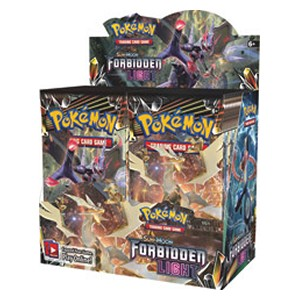 Caja de sobres de Forbidden Light