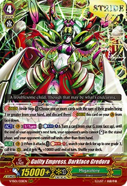Guilty Empress, Darkface Gredora (V.2 - Triple Rare)