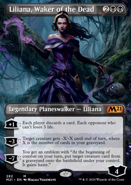 Liliana, Waker of the Dead (V.1)