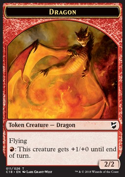 Dragon Token (Red 2/2)