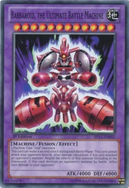 Barbaroid, the Ultimate Battle Machine (Version 1 - Common)
