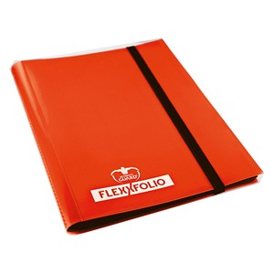 Flexxfolio 9-Pocket Binder (Orange)
