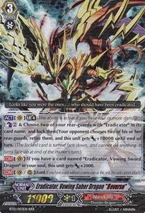 "Eradicator, Vowing Saber Dragon ""Яeverse"" [G Format]"