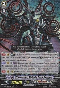 Star-vader, Nebula Lord Dragon [G Format] (V.2 - Triple Rare)