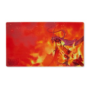 "Dragon Shield: ""Usaqin"" Orange Playmat"