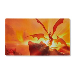 "Dragon Shield: ""Elicaphaz"" Yellow Playmat"
