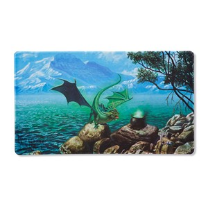 "Dragon Shield: ""Bayaga"" Mint Playmat"