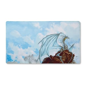 "Dragon Shield: ""Caelum"" Silver Playmat"