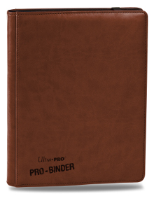 Ultra Pro Premium Pro Binder 9-Pocket Binder (Brown)