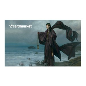 "Tapis Cardmarket ""Woman by the Sea"" by Volkan Baga"