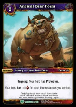 Ancient Bear Form