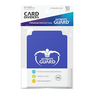 10 Ultimate Guard Dividers (Blue)