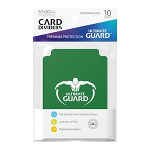 10 Ultimate Guard Dividers (Green)