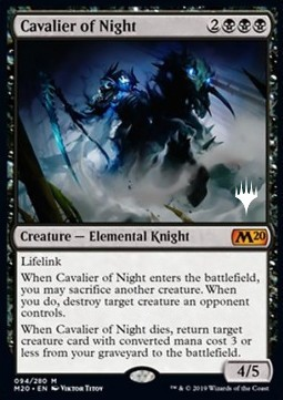 Cavalier of Night (V.1)