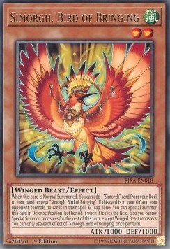 Simorgh, Bird of Bringing