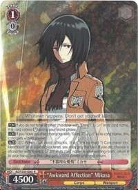 """Awkward Affection"" Mikasa"