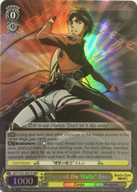 """Beyond the Walls"" Eren (V.2 - Triple Rare)"