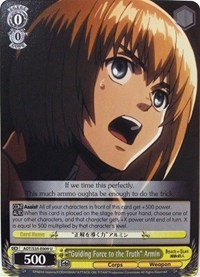 """Guiding Force to the Truth"" Armin"