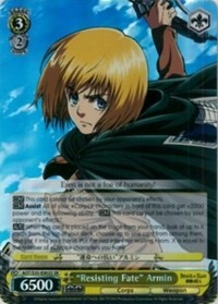 """Resisting Fate"" Armin (Version 2 - Super Rare)"