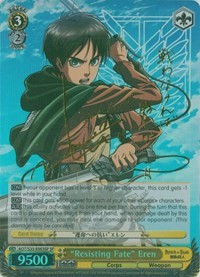 """Resisting Fate"" Eren (Version 2 - Special Rare)"