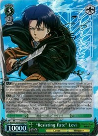 """Resisting Fate"" Levi (Version 2 - Special Rare)"