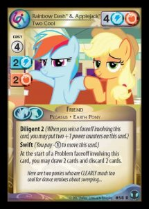 Rainbow Dash & Applejack *Two Cool*