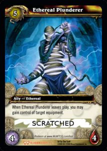 Ethereal Plunderer (Scratched Loot)