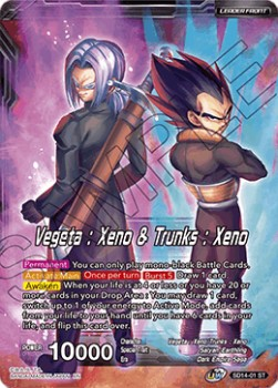 Vegeta : Xeno & Trunks : Xeno // Vegeks, the Unsung Fusion Hero