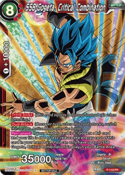 SSB Gogeta, Critical Combination