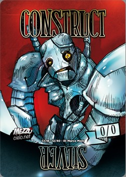 Construct Token (A */*) // Silver Counter