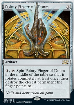 Pointy Finger of Doom