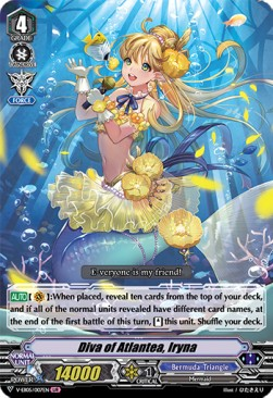 Diva of Atlantea, Iryna (Version 1 - Legend Idol Rare)