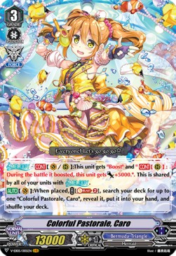 Colorful Pastorale, Caro (Version 1 - Vanguard Rare)