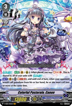 Colorful Pastorale, Canon (Version 1 - Vanguard Rare)
