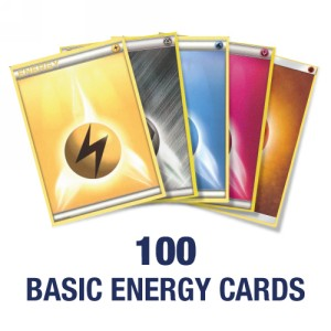 100 random Baisc Energy Cards