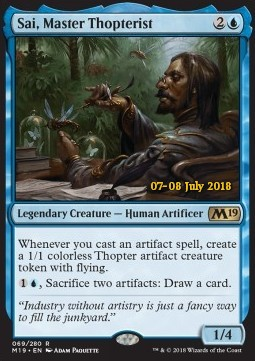 Magic the Gathering Spirit NM M19 MTG 1x SUPREME PHANTOM