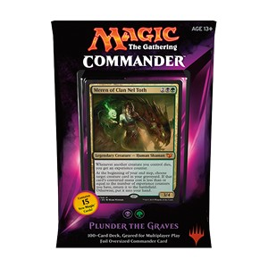 "Commander 2015: ""Plunder the Graves"" Deck (Black/Green)"