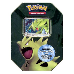 2007 Spring Collector's Tins: Tyranitar Tin (International)