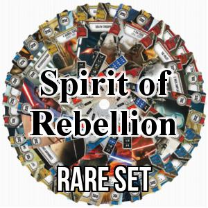 Spirit of Rebellion: Rare Set